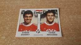 Figurina Panini WM Italia 90 - 447 Shawky/Abouzeid Egitto - Panini