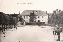 CPA FRANCE - 10 - Vitry Le Croisé - La Mairie - Francia