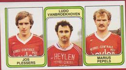 Panini 83 Football Voetbal Belgie 1983 Sticker Nr. 425 VV Overpelt-Fabriek Jos Plessers Ludo Vanbroekhoven Marius Pepels - Sport