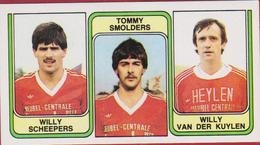 Panini 83 Football Voetbal Belgie 1983 Sticker Nr. 427 VV Overpelt-Fabriek Kris Hensen - Louis Dingens - Vaclav Liwerski - Sport