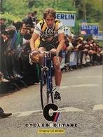 Postcard Greg/Gregory Le Mond - Renault-Elf-Gitane - 1981 - Ciclismo