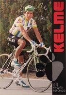 Postcard Jose Hipolito Roncancio - Kelme-Iberia - 1989 - Cyclisme