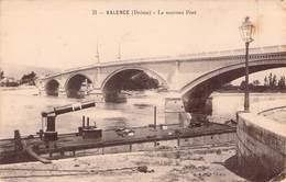 26  VALENCE , Le Nouveau Pont - Valence