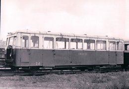 Chemin De Fer Français, Ligne Blanc-Argent - Le Blanc, Autorail De Dion à Romorantin, Photo 1954 BVA BA 612.9 - Trenes