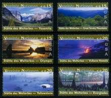UNO WIEN Nr 399-404 Postfrisch S03E852 - Centre International De Vienne