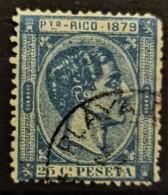 PUERTO RICO 1879 - Canceled - Sc# 26 - 25c - Puerto Rico