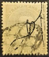 PUERTO RICO 1873 - Canceled - Sc# 1 - 25c - Puerto Rico