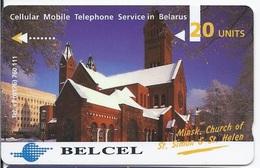 BELARUS - BELCEL - MINSK - CHURCH ST.SIMON & ST.HELEN - 1CWMB - Belarus
