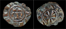 Italy Sicily Manfred Of Hohenstaufen Denaro - Regional Coins