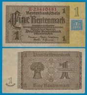 SBZ/DDR Huponausgabe 1 Mark Auf 1 RM Banknote 1948 Ros.330b Fast XF (2-) - Non Classificati
