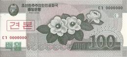 COREE DU NORD 100 WON 2008 UNC P 61 S - Corea Del Nord