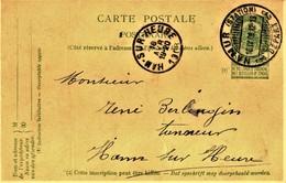 """3 OBLITERATIONS """"A PONT """" TEMPORAIRES - NAMUR - BRUXELLES - CHARLEROI - EP - ARMOIRIES  56 - 5 C -. VOIR - Belgien"""
