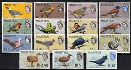 1965 Mauritius Birds Definitives Set (** / MNH / UMM) - Unclassified