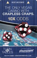 Stratosphere Casino - Las Vegas, NV - Hotel Room Key Card - Hotel Keycards