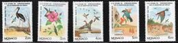 1991 Monaco Migratory Birds Set (** / MNH / UMM) - Unclassified