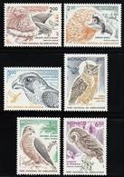 1992-93 Monaco Birds Of Prey Of Mercantour National Park Set (** / MNH / UMM) - Eagles & Birds Of Prey