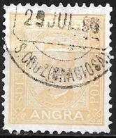 Angra – 1892 King Carlos 5 Réis With S. Cruz (Graciosa) Cancel - Angra