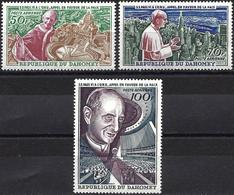 Dahomey 1966 - Mi 282/84 - YT Pa 43/45 ( Pope Paul VI ) MNH** Airmail Complete Set - Bénin – Dahomey (1960-...)