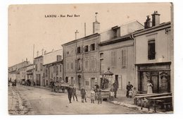 54 - LAXOU - Rue Paul Bert - Très Animée   (C139) - Francia