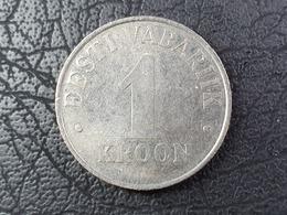 Münze - Estland - 1-Kronen-Stück Von 1993 - Estonia