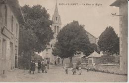 ISERE BIOL LE HAUT LA PLACE ET L'EGLISE - Other Municipalities