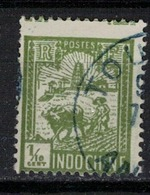INDOCHINE        N°  YVERT   :   123  ( 8 )     OBLITERE       ( O B   6 / 38 ) - Used Stamps