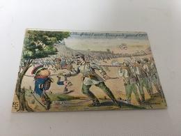 """CP - 1600 - Cibles Offertes à L'armée Russe ,par Le Général """" OKU"""" - Autres Illustrateurs"""