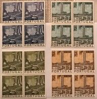 """POR#3660-Complete Set Of 4 Blocks Of 4 MNH Stamps - """"Inauguração Da Refinaria Do Porto"""" - Portugal - 1970 - Blocs-feuillets"""