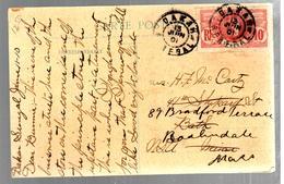 31501 - De DAKAR Pour Les ETATS UNIS - Storia Postale