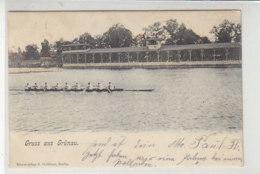 Gruss Aus Grünau - 1907 Achter Mit Steuermann - Koepenick