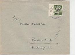 Brief Mit 721 Linker SR Aus ZEMPELBURG (Sępólno Krajeńskie) 13.11.3? - Allemagne