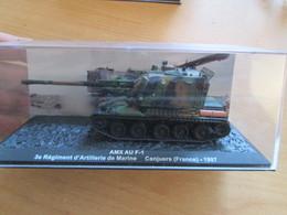 CANON 155 AMX AU F-1 3e RAMA CANJUERS 1997 1/72 , Superbement Détaillé , En Métal - Panzer