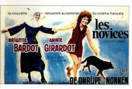 1 CPM - Carte Postale Cinéma - Les Novices Brigitte Bardot Annie Girardot - Posters On Cards
