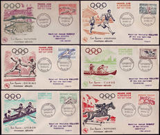 France - 1953 - Olympic Games 1952 - FDC - Ete 1952: Helsinki