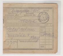 YUGOSLAVIA,1924 KRANJ Parcel Card - Covers & Documents