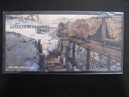 """TB B.F. Souvenir N°128 : """" Bataille De La Somme ... """", Sous Blister, Neuf XX. - Blocs Souvenir"""