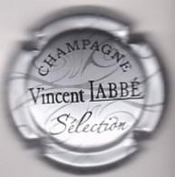 Capsule Champagne LABBE Vinçent ( 4 ; Séléction , Argent Et Noir ) {S19-20} - Champagne