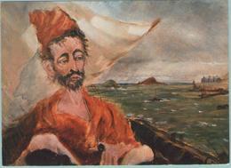 CPM:  Musée De MORLAIX  (Dpt.29):  Tristan Corbière, Auto Portrait Au Large De Roscoftt.      (F911) - Pintura & Cuadros