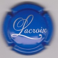 Capsule Champagne LACROIX ( 10 ; Bleu Et Blanc ) {S19-20} - Champagne