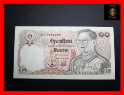 THAILAND 10 Baht 1980 P. 87 Sig. 60  UNC - Thailand