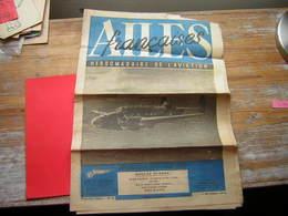 JOURNAL LES AILES FRANCAISES HEBDOMADAIRE DE L'AVIATION NOUVELLE SERIE N° 6 5 DECEMBRE 1944 - Periódicos