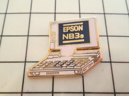 AB181 Pin's Pins / Beau Et Rare / THEME : ARTHUS BERTRAND / ORDINATEUR PORTABLE NB3s EPSON - Arthus Bertrand