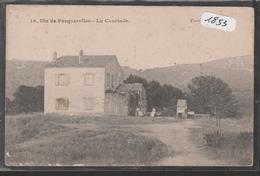 Cpa 1853 Porquerolles La Courtade - Rare- - Porquerolles