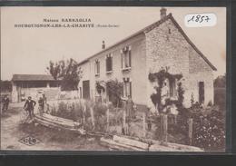 Cpa 1857 Bourguignon La Charité Maison Barbaglia - Rare - Autres Communes