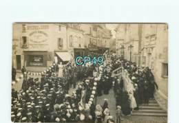 49 - DOUE LA FONTAINE - CARTE PHOTO à L'honneur Téophile VENARD Missionnaire Au Tonkin Né à Saint Loup Sur Thouet - Doue La Fontaine