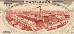 FRANCE - 1939 - Facture - Cires Françaises - Montluçon - - Drogerie & Parfümerie
