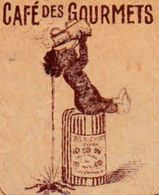 FRANCE - 1930 - Facture - GOURMETS - Café, Chocolat - Lebensmittel