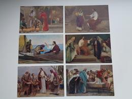 """Beau Lot De 12 Cartes Postales """" Activité De Jésus """"  Synagogue  Mooi Lot Van 12 Postkaarten Van Jezus  Synagoog - 5 - 99 Cartes"""