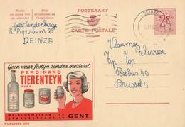 Publibel - 2110 - FERDINAND TIERENTEYN - GENT - DEINZE - 5 NOVEMBRE 1969. - Publibels