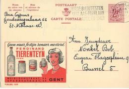Publibel - 1840 - FERDINAND TIERENTEYN - GENT - ST-NIKLAAS - 1962. - Publibels